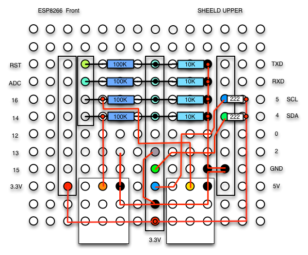 Make a voltmeter in the ADS1115 and ESP8266   macsbug