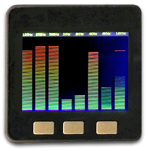 Audio Spectrum Display with M5STACK   macsbug
