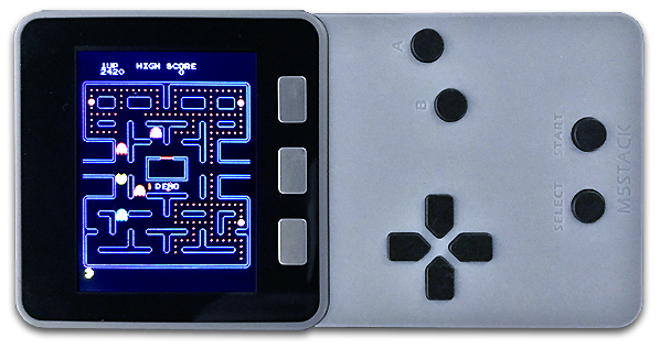 PACMAN with M5STACK | macsbug